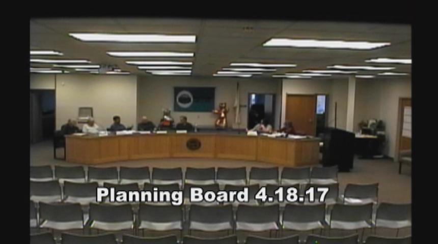 Planning Board 4.18.17