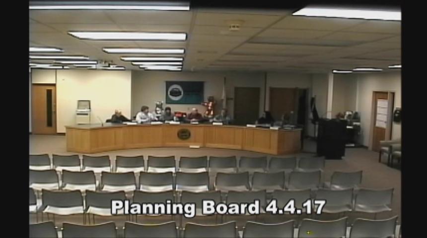 Planning Board 4.4.17