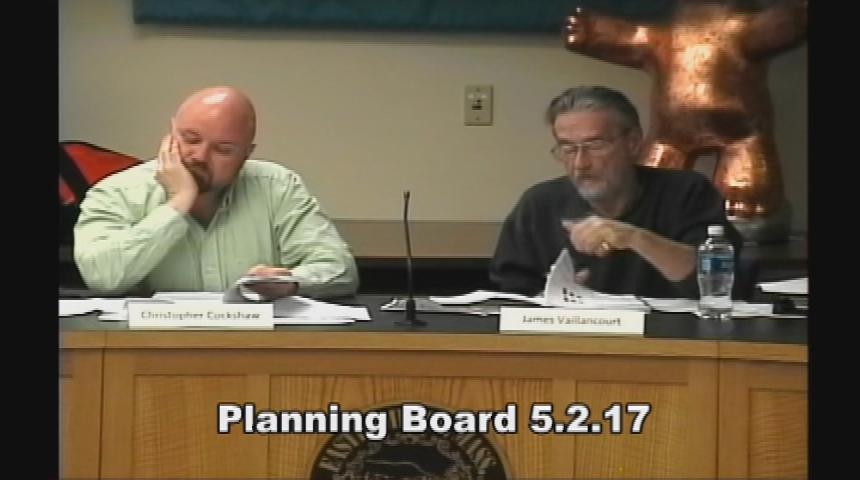 Planning Board 5.2.17
