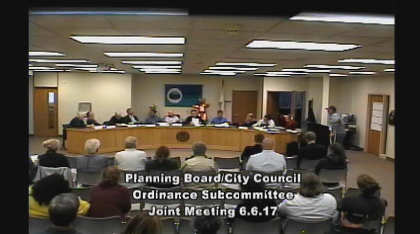 Planning Board and Ordinance Subcommittee 6.6.17