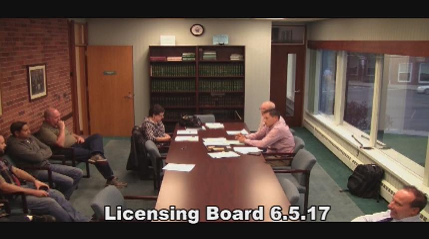 Licensing Board 6.5.17