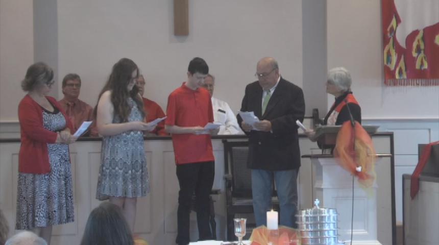 First Congregational Church Of Southampton June 4 Pentecost Service