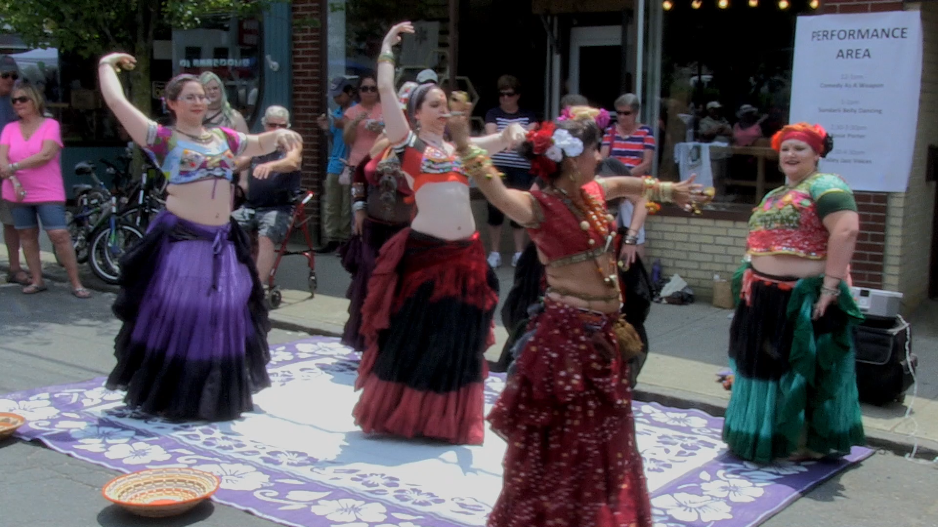 Cultural Chaos 2017 Belly Dancing