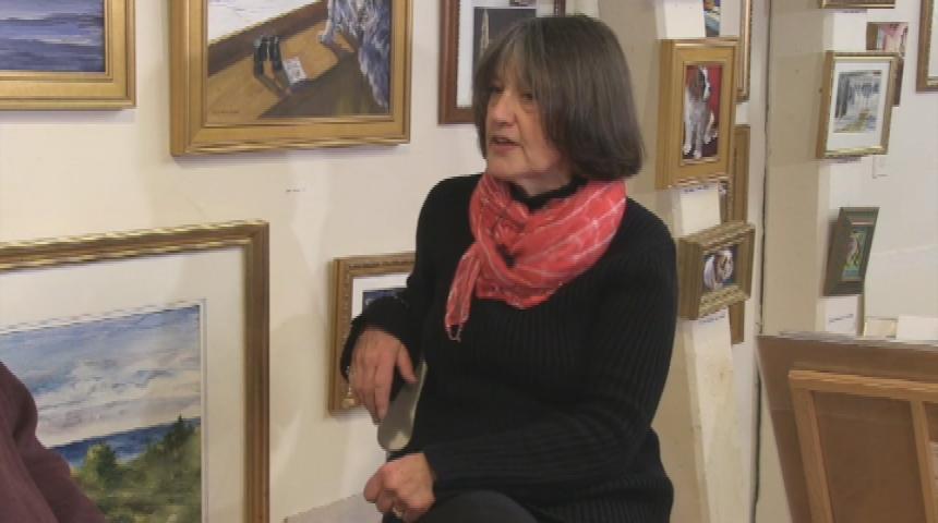 In Studio- Susan Pecora