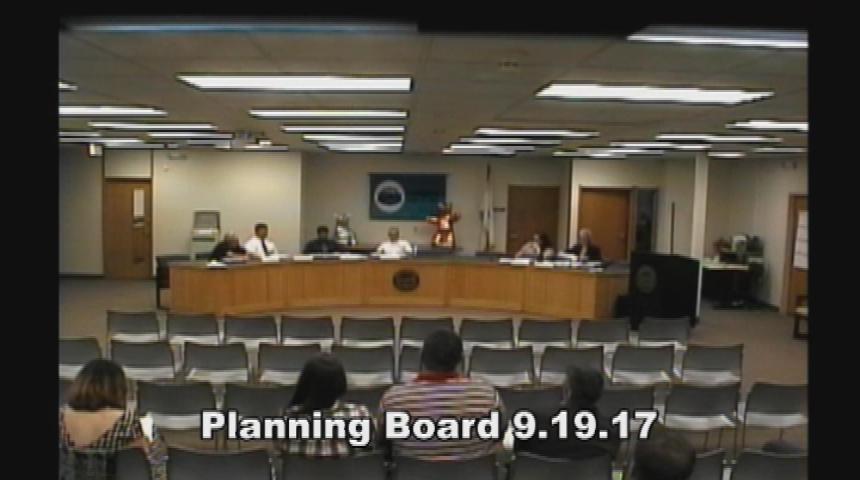 Planning Board 9.19.17