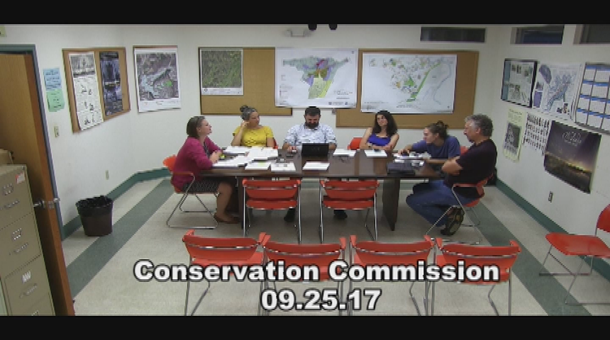 Conservation Commission 9.25.17