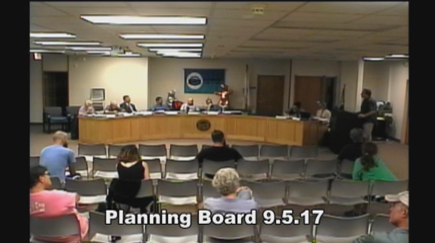 Planning Board 9.5.17