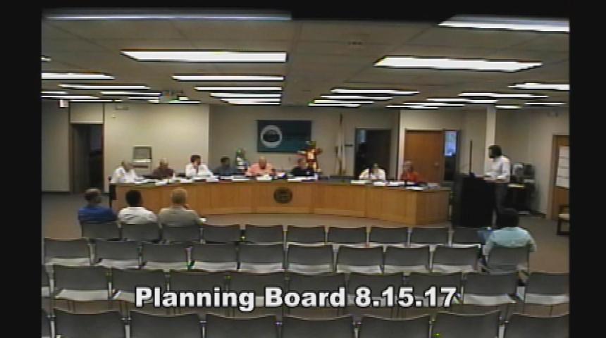 Planning Board 8.15.17