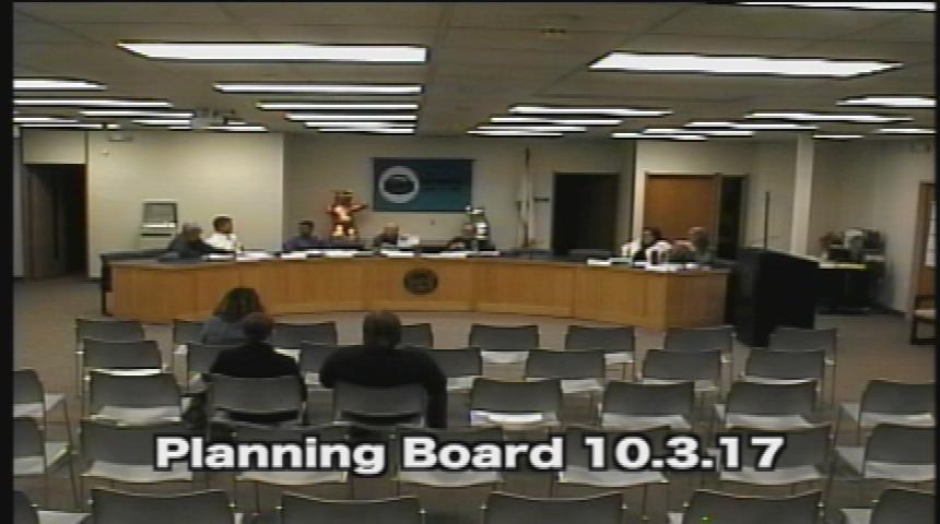 Planning Board 10.3.17