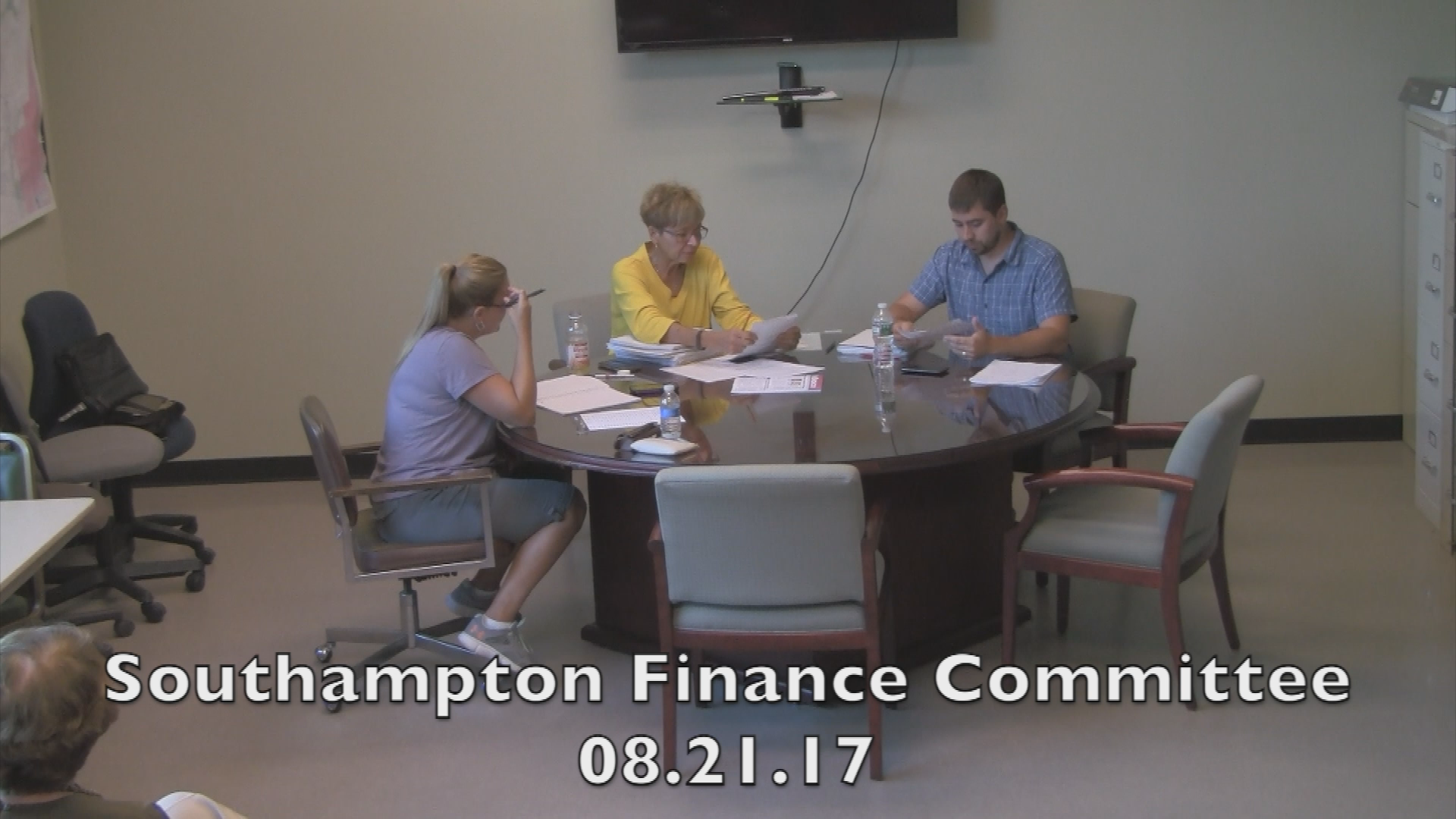Southampton Finance Committee 08