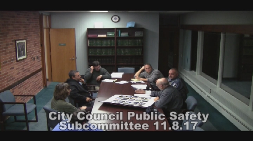 City Council Public Safety Subcommittee 11.08.17