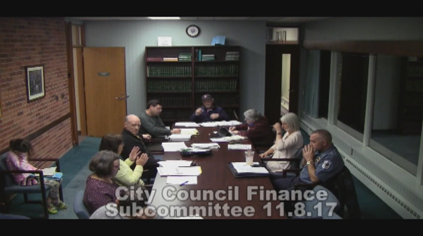City Council Finance Subcommittee - 11.08.17