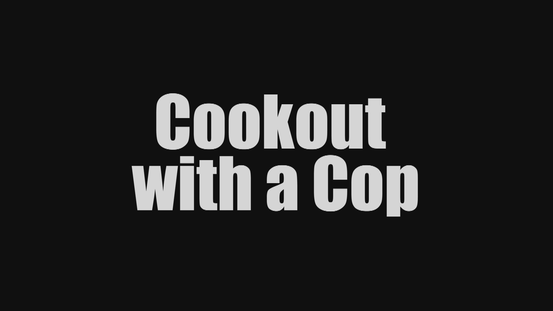 Cookout with a Cop 2017