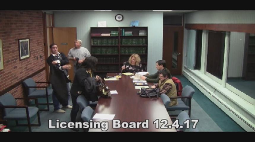 Licensing Board 12.04.17
