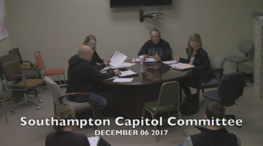 Southampton Capitol Committee 12.6.17