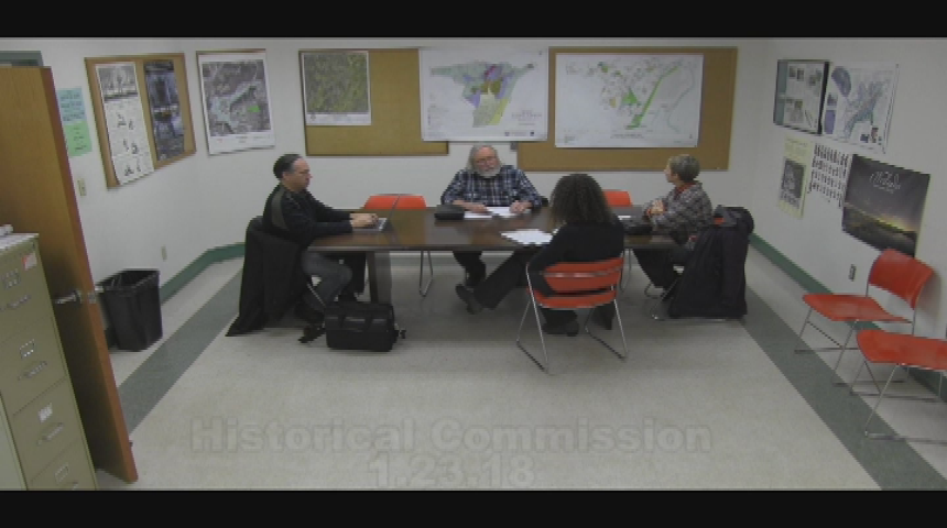 Historical Commission 1.23.18