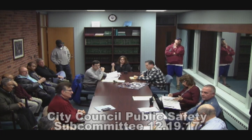 City Council Public Safety Subcommittee 12.19.17