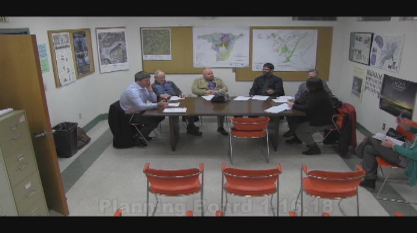 Planning Board 1.16.18