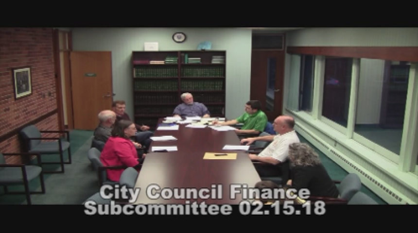 City Council Finance 2.15.18