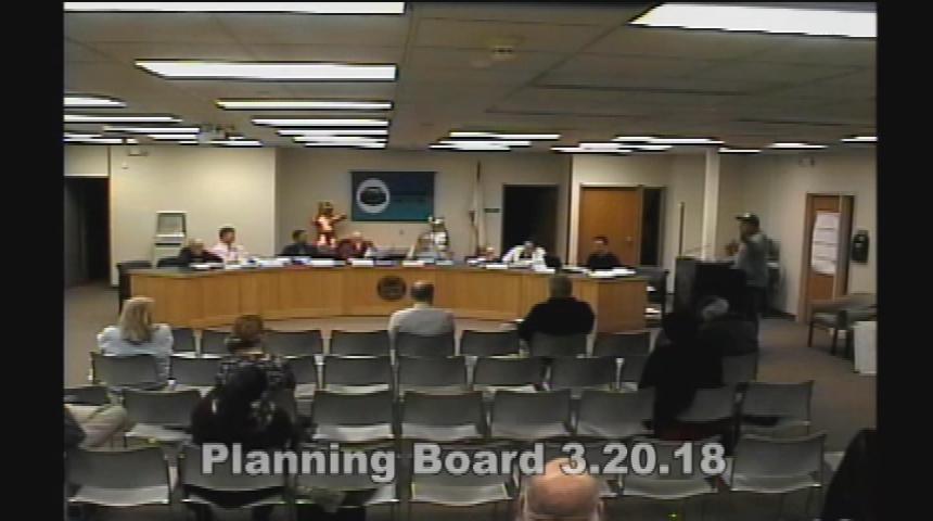 Planning Board 3.20.18