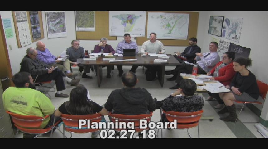 Planning Board 2.27.18