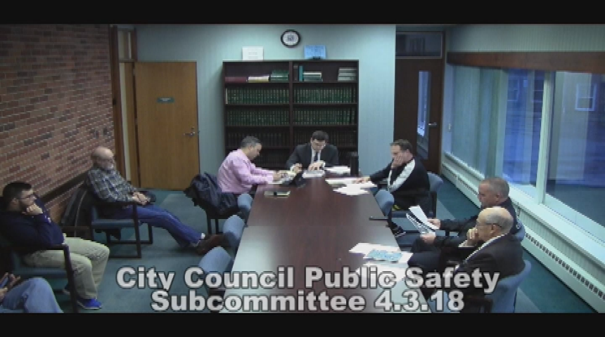 City Council Public Safety 4.3.18