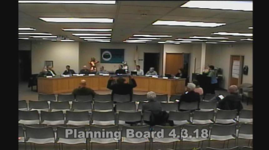 Planning Board 4.3.18