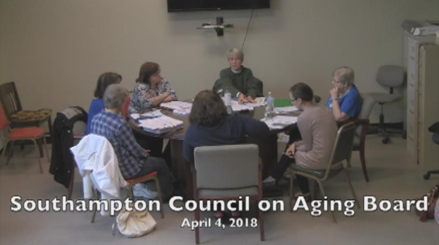 Southampton Council on Aging 4.4.18