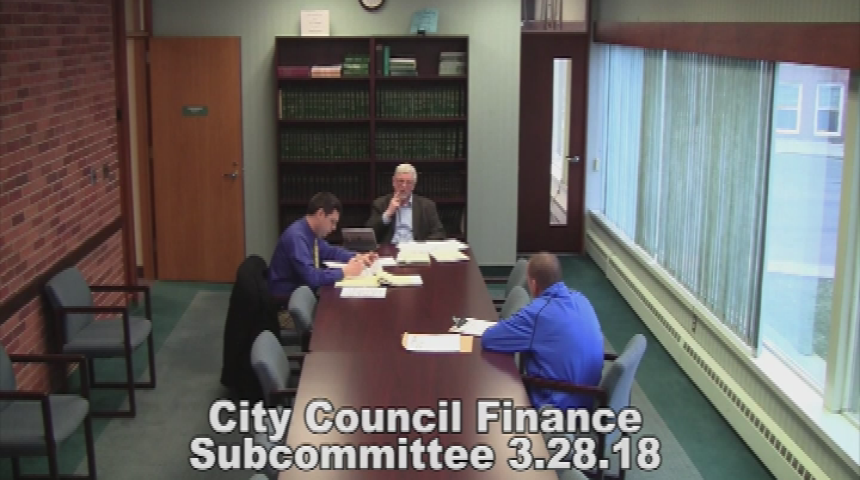 City Council Finance Subcommittee 3.28.18