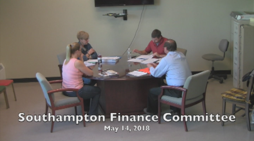 Southampton Finance Committee May 14 2018