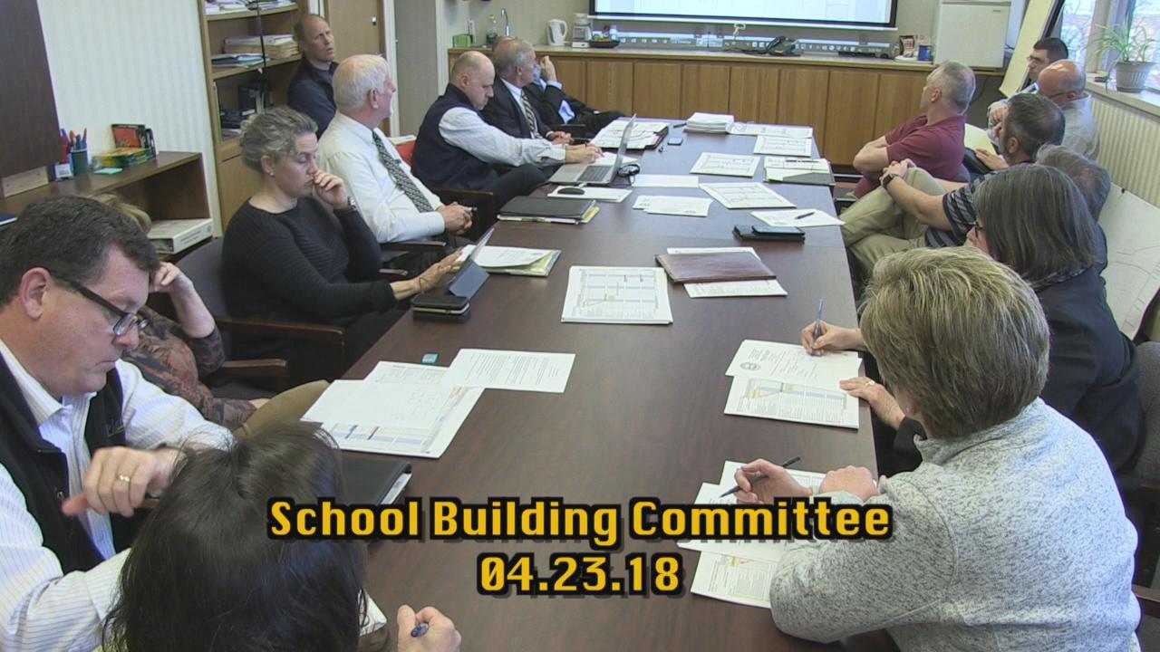 Easthampton School Building Committee 04 23 18