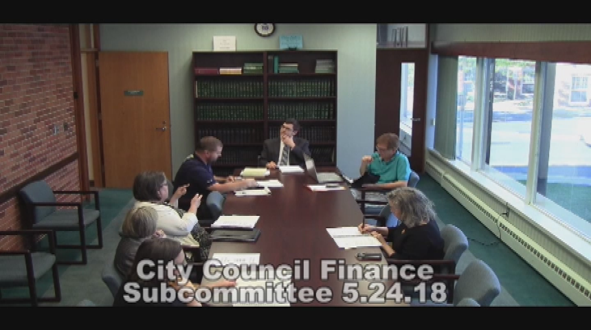 City Council Finance Subcommittee 5.24.18