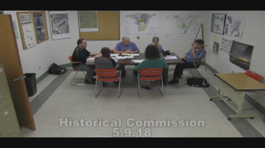 Historical Commission 5.9.18