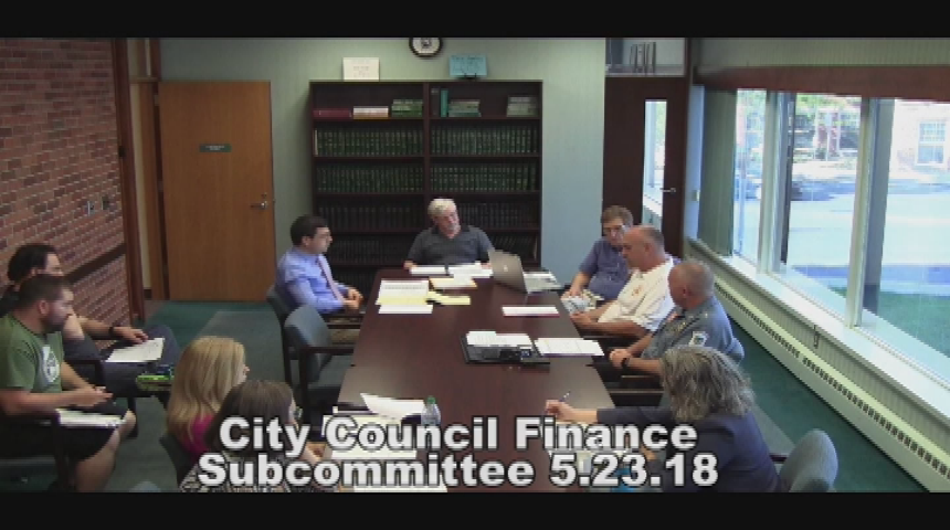 City Council Finance Subcommittee 5.23.18