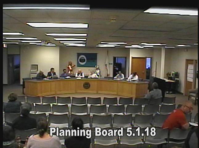Planning Board 5.1.18