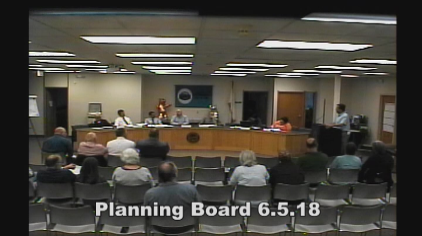 Planning Board 6.5.18