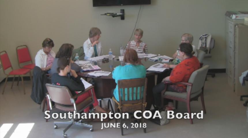 Southampton COA Board June 6 2018
