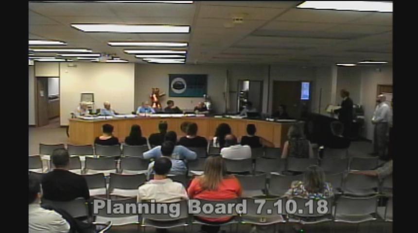 Planning Board 7.10.18