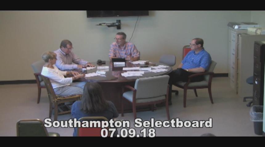 Southampton Selectboard 7.9.18