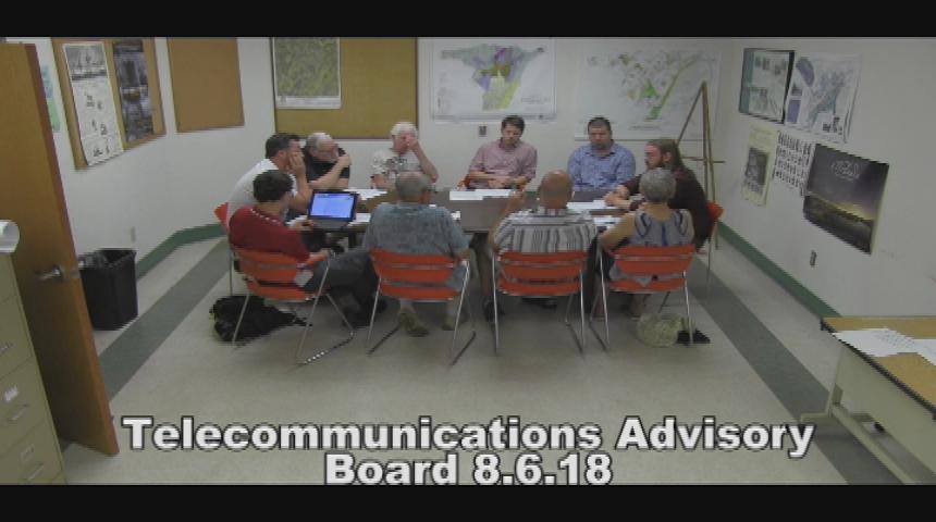 Telecommunications Advisory Board 8.6.18