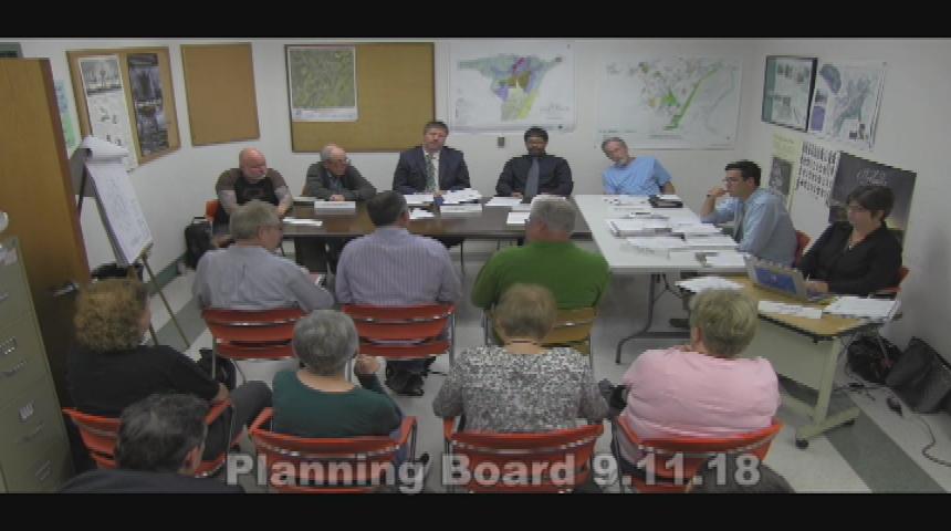 Planning Board 9.11.18