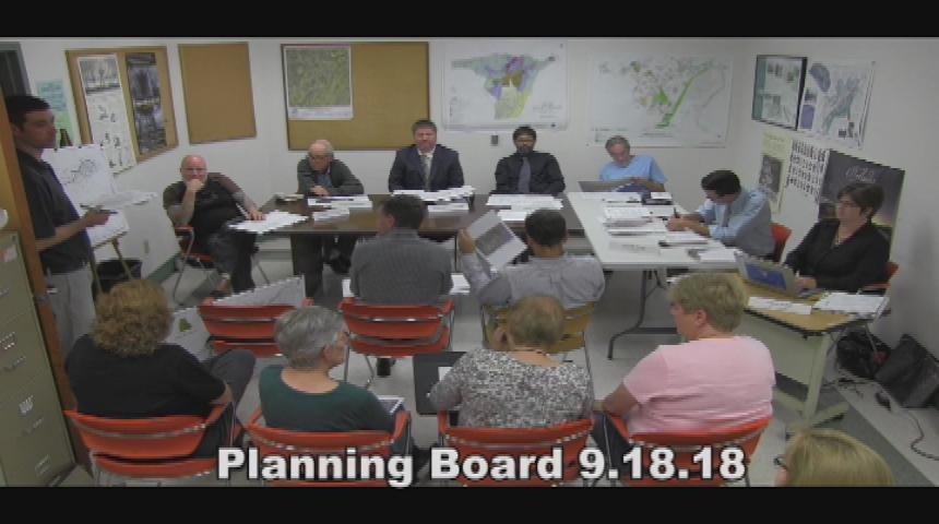 Planning Board 9.18.18