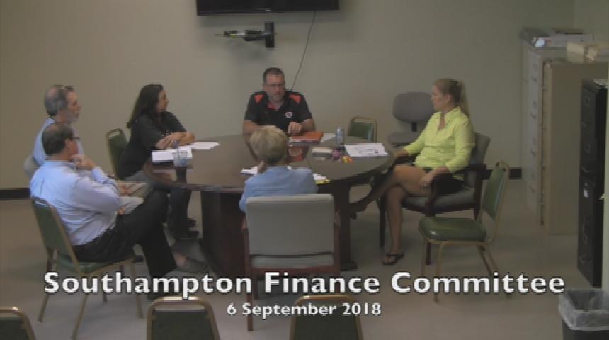 Southampton Finance Committee 9.6.18