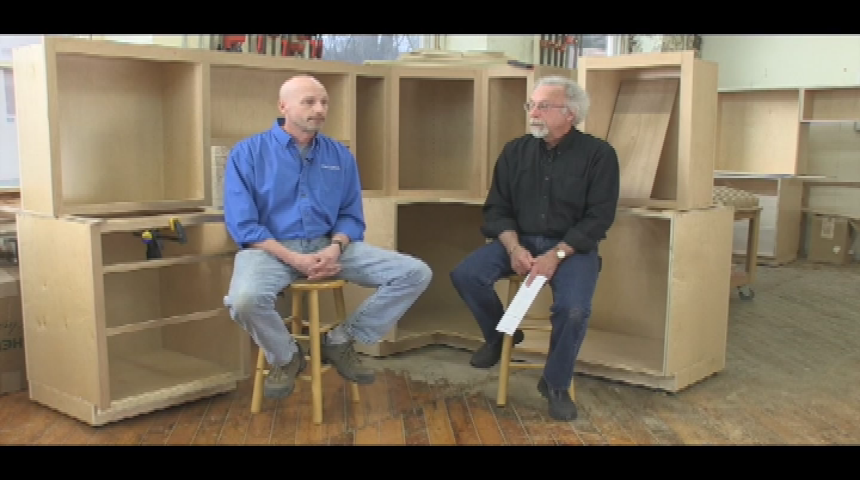 In Studio - New England School of Architectural Woodworking