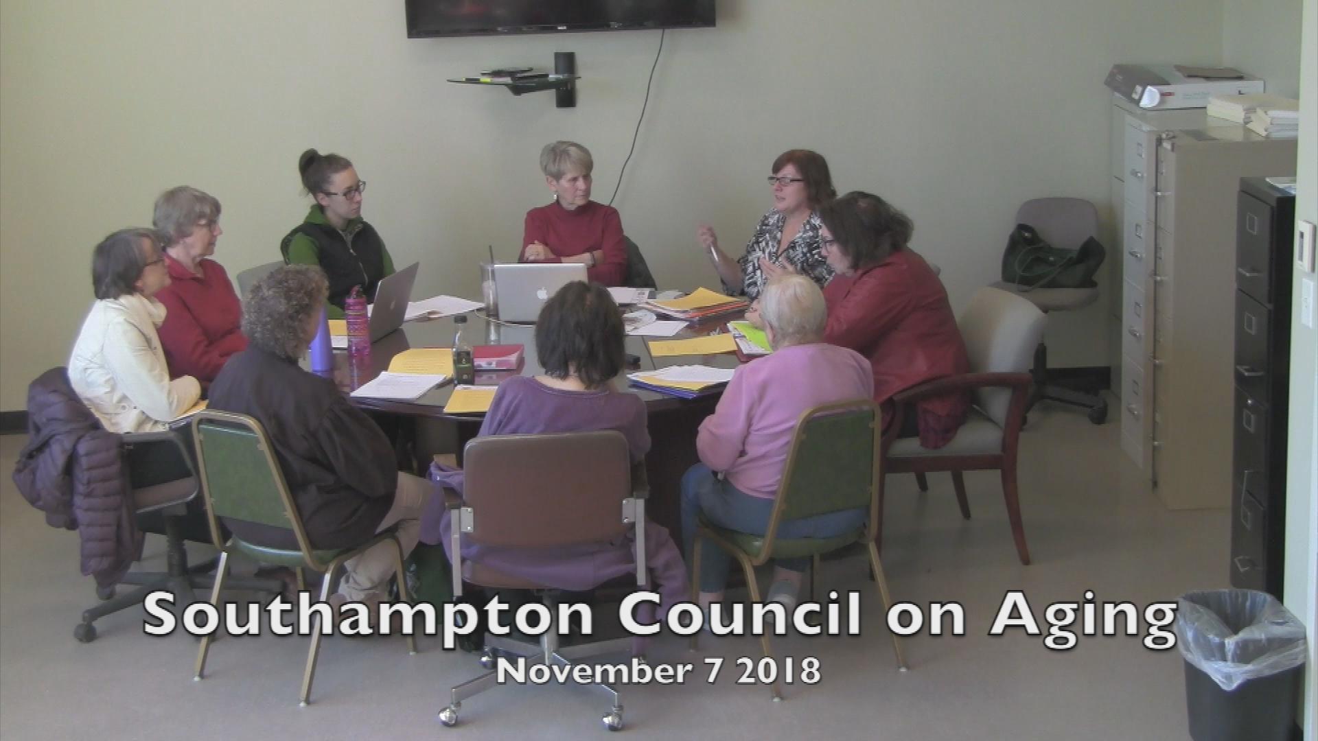 Southampton Council On Aging 11 07 2018