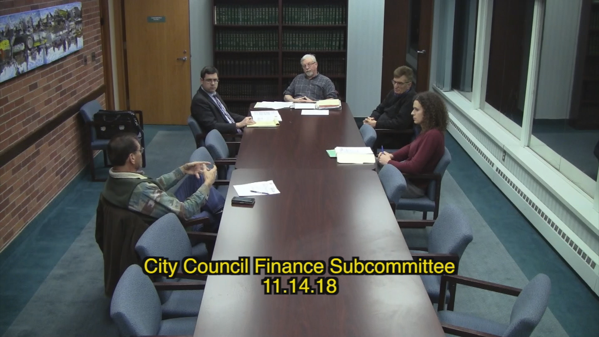 City Council Finance Subcommittee 11.14.18
